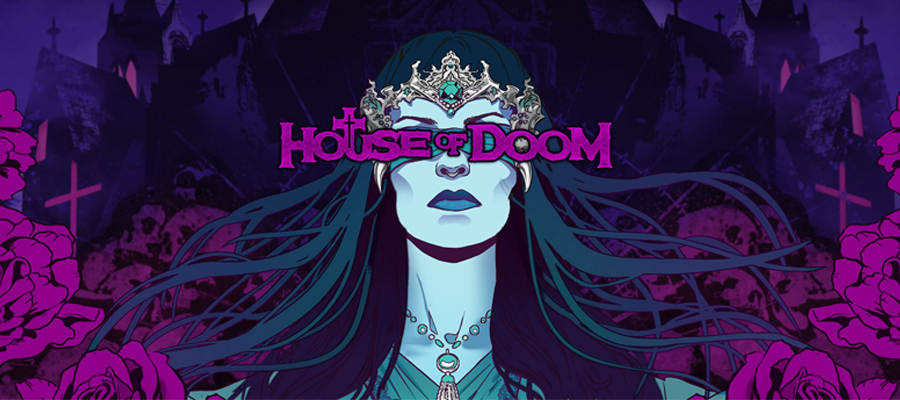 house of doom banner